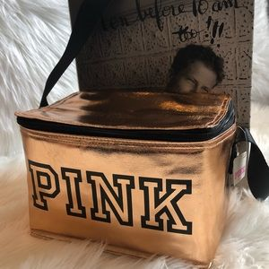 💗NEW PINK by Victoria's Secret lunch bag